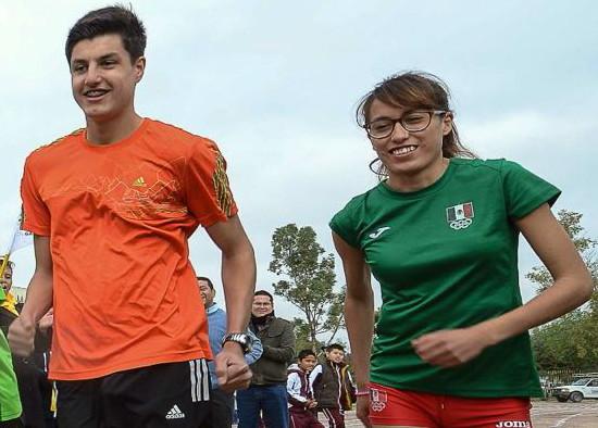Carlos Emiliano Carbajal y Lupita Sánchez